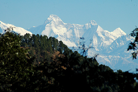 The Kumaon Himalaya